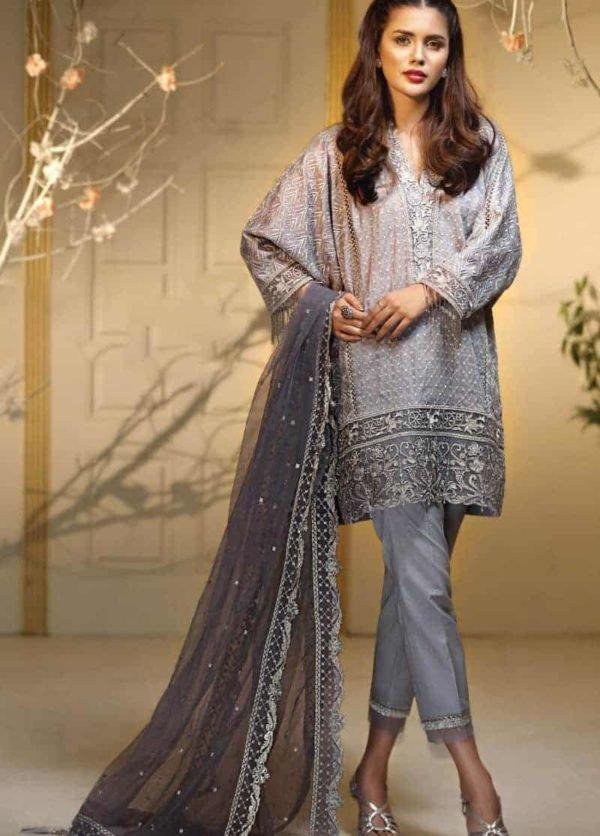 Pakistani Suits & Dresses - Unstitched Dress Material Anaya Festive Eid Collection'18 RESTOCKED Anaya Pakistani Suits