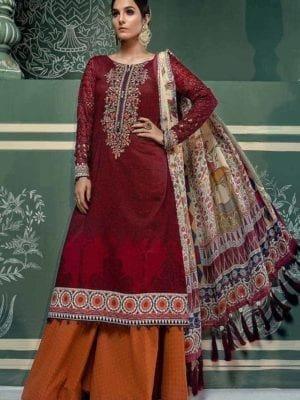 Maryam's Volume -16 Pakistani Suit Pakistani Suits & Dresses - Unstitched Dress Material Ready to Ship - Original Pakistani Suits
