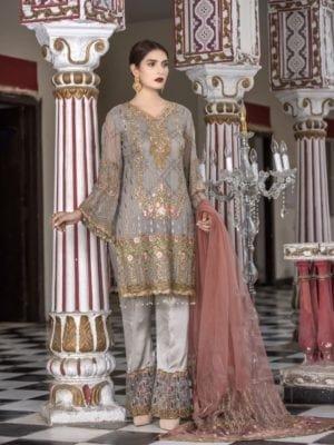 Khaadi Khaadi Classics Y18303A best pakistani suits collection
