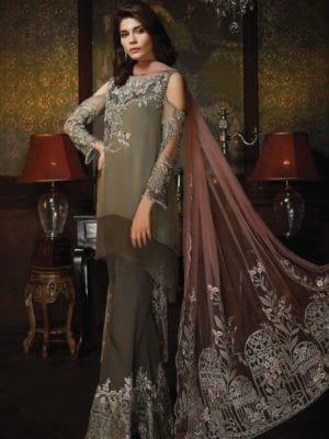 *Hot on Sale* Aayra Wedding Chiffon HOT Chiffon Dupatta Salwar Suit