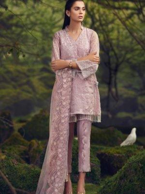 ~Sold out~ Asim Jofa Raw Silk Collection AJR-06 Chiffon Dupatta Salwar Suit