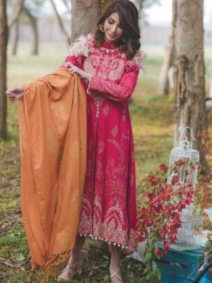Baroque Isabella Chiffon by Baroque Baroque Pakistani Suits