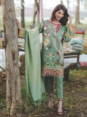 Charizma Charizma Winter Chenille Charizma Pakistani Suits