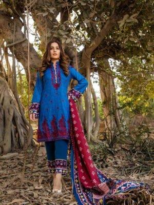 Sahil Sahil Designer Cotton Embroidered Suit – Volume 3 Sahil Designer Cotton Embroidered Suit