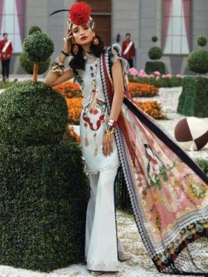 Zaha's Wonderland Summer Lawn Collection 2019 - Original Zaha's Wonderland Summer Lawn Collection 2019 11A best pakistani suits collection
