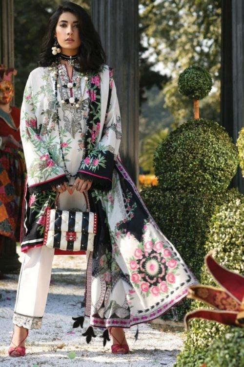 Zaha's Wonderland Summer Lawn Collection 2019 - Original Zaha's Wonderland Summer Lawn Collection 2019 13A best pakistani suits collection