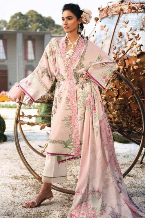 Zaha's Wonderland Summer Lawn Collection 2019 - Original Zaha's Wonderland Summer Lawn Collection 2019 13B best pakistani suits collection