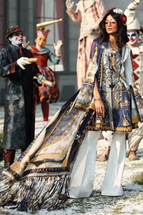Zaha's Wonderland Summer Lawn Collection 2019 - Original Zaha's Wonderland Summer Lawn Collection 2019 16B RESTOCKED Lawn Dupatta Salwar Suits