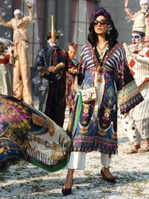 *On Sale* Zaha's Wonderland Summer Lawn Collection 2019 17A – 2 PC – NO DUPATTA – HOT best pakistani suits collection