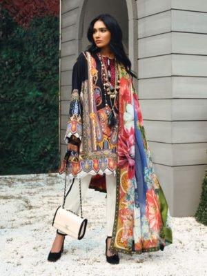 Zaha's Wonderland Summer Lawn Collection 2019 - Original Zaha's Wonderland Summer Lawn Collection 2019 18B best pakistani suits collection