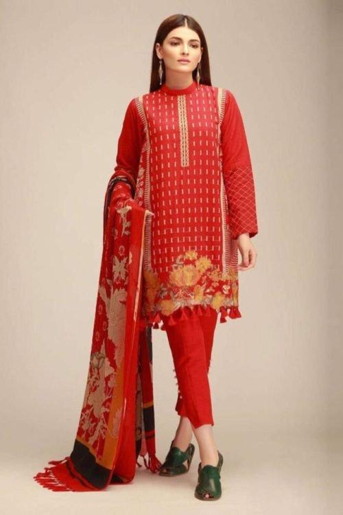 *On Sale* Khaadi Winter KO 18406 B HOT best pakistani suits collection