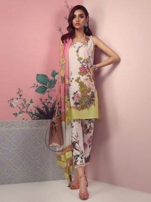 *On Sale* Sana Safinaz Muzlin Spring Summer Lawn 2019 3B RESTOCKED Chiffon Dupatta Salwar Suit