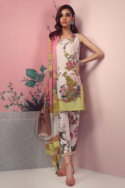 *On Sale* Sana Safinaz Muzlin Spring Summer Lawn 2019 7B RESTOCKED best pakistani suits collection
