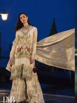 *On Sale* Sana Safinaz Luxury Lawn'19 15B RESTOCKED best pakistani suits collection