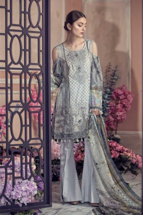 Aayra Luxury Lawn 2019 - Original Aayra Luxury Lawn 2019 Festive