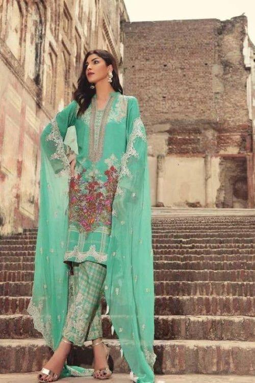 Charizma Naranji Karandi Winter 2019 - Original Charizma Naranji Karandi Winter 2019 Salwar Suits Pakistani Suits for Winter