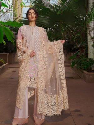 Sobia Nazir Sobia Nazir Lawn 2019 6B RESTOCKED Chiffon Dupatta Salwar Suit