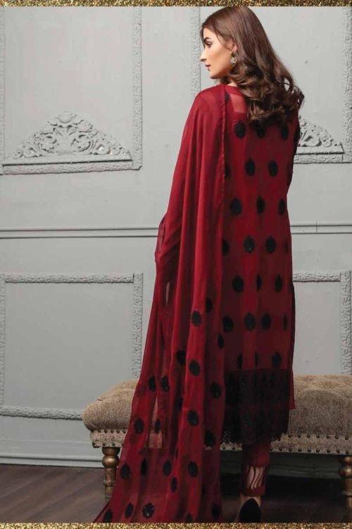 *On Sale* LSM Luxury Festive Eid Collection Restocked Chiffon Dupatta Salwar Suit