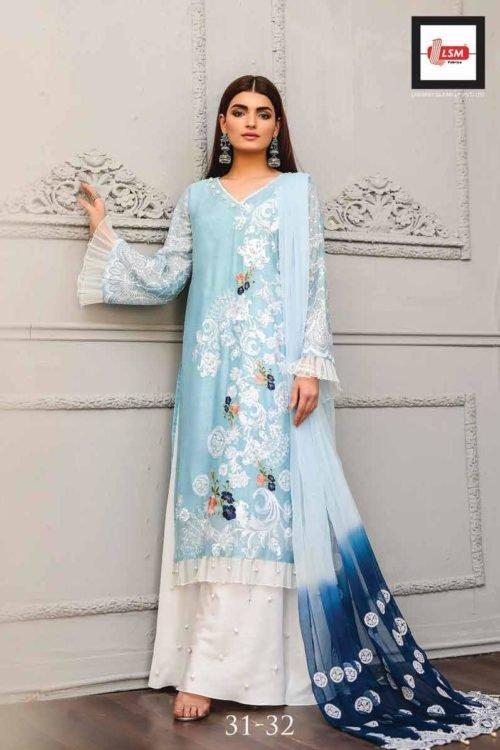 LSM Luxury Festive Eid Collection - Original LSM Luxury Festive Eid Collection best pakistani suits collection