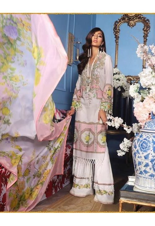 Sana Safinaz Muzlin Vol 2 – 2019- 13A RESTOCKED Lawn - Reloaded Lawn Dupatta Salwar Suits