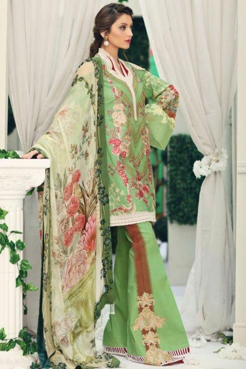 *On Sale* Nourhan Summer Lawn 2019 RESTOCKED Chiffon Dupatta Salwar Suit