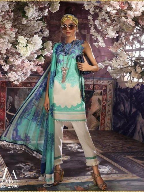 Sana Safinaz Muzlin Vol 2 – 2019- 1A RESTOCKED Best Sellers Restocked best pakistani suits collection