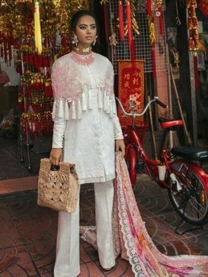 ~Sold out~ Suffuse by Sana Yasir Lawn 2019 Chiffon Dupatta Salwar Suit