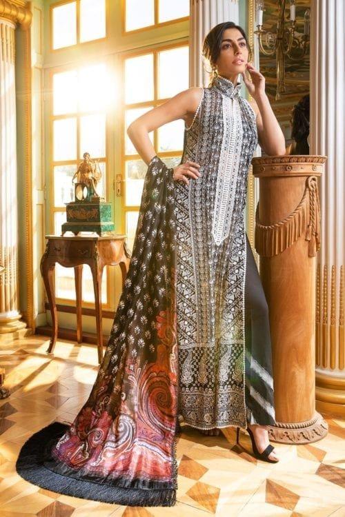 Sobia Nazir Sobia Nazir Eid Collection Design 5A Chiffon Dupatta Salwar Suit