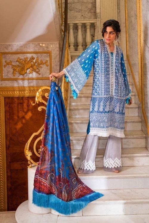 Sobia Nazir Sobia Nazir Eid Collection Design 5B Chiffon Dupatta Salwar Suit