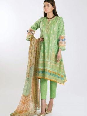 *On Sale* Khaadi Festive Eid 2019 GR19305-Green-3Pc RESTOCKED best pakistani suits collection