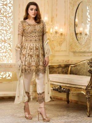 *On Sale* Ramsha Eid 2019 RESTOCKED Chiffon Dupatta Salwar Suit