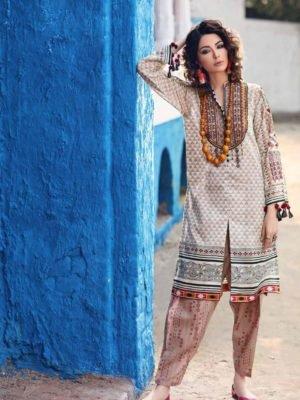 *On Sale* Alkaram Spring Summer Vol 2 SS-14.1-19-2-Red Alkaram Pakistani Suits