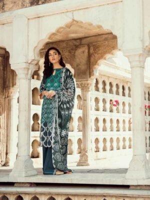 *On Sale* Cross Stitch Pakistani Suits Rani Bagh – Luxury Lawn '19 RESTOCKED Chiffon Dupatta Salwar Suit