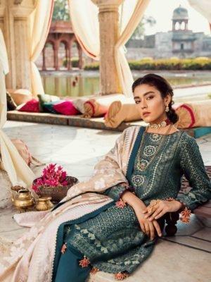 Cross Stitch Rani Bagh - Luxury Lawn '19 - Original Cross Stitch Pakistani Suits Rani Bagh – Luxury Lawn '19 best pakistani suits collection