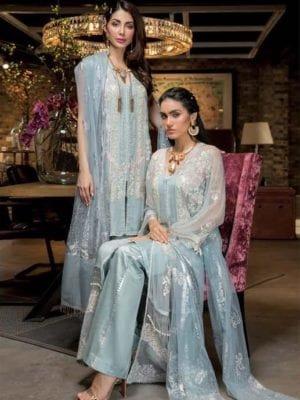 Sobia Nazir Eid Collection Design 5A Sobia Nazir Chiffon Dupatta Salwar Suit