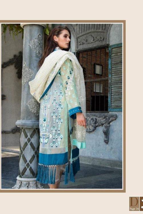 Zunuj Festive by Zunn Ready to Ship Chiffon Dupatta Salwar Suit