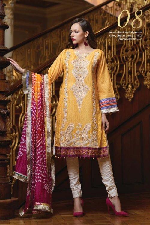Mahiymaan Eid Luxury 2019 - Original Mahiymaan Eid Luxury 2019 Design 08 best pakistani suits collection