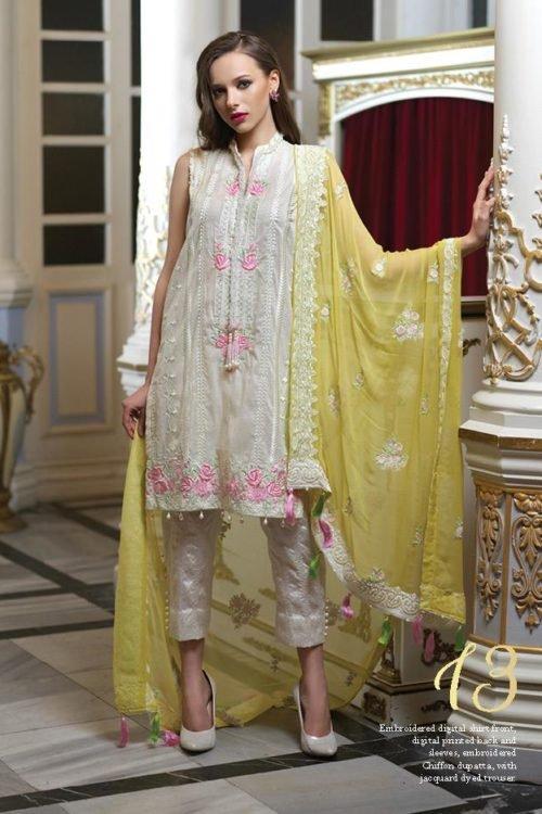 *On Sale* Mahiymaan Eid Luxury 2019 Design 13 RESTOCKED best pakistani suits collection