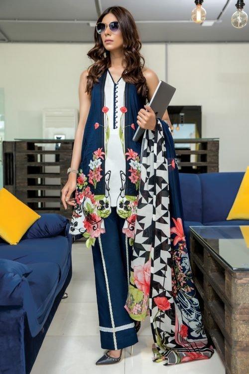 Firdous Firdous Urbane Lawn Salwar Kameez best pakistani suits collection