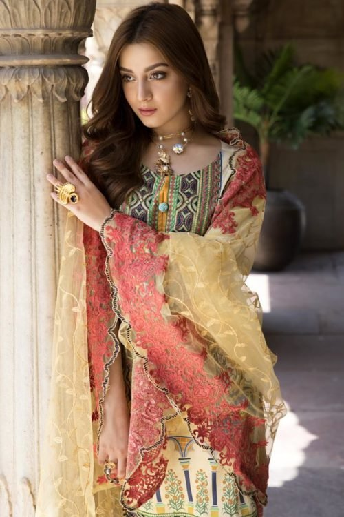 *On Sale* SatinStitch Lawn – Exclusive RESTOCKED Lawn Dupatta Salwar Suits