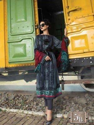 ~Sold out~ Coco by Zara Shahjahan Chiffon Dupatta Salwar Suit