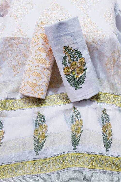 ~Sold out~ Jaipuri Cotton Hand Block Printed Salwar Kameez Jaipuri Cotton Hand Block Printed Salwar Kameez