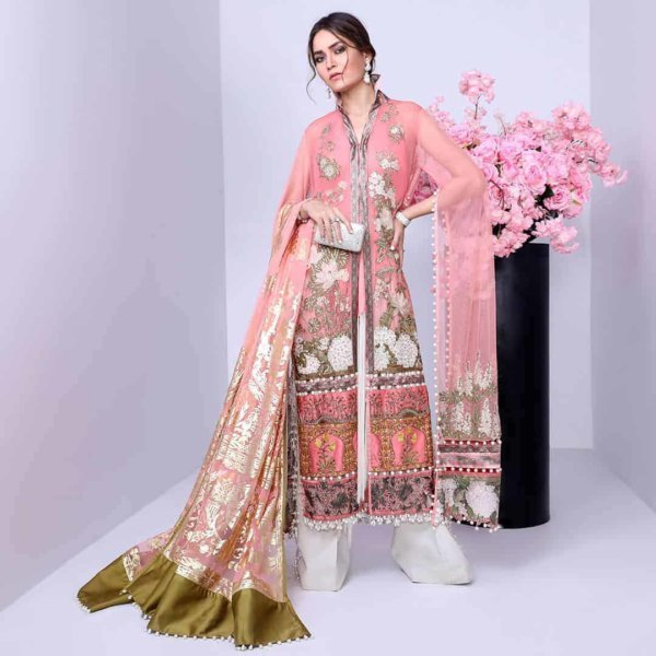 *On Sale* Sana Safinaz Luxury Eid'19 1B RESTOCKED best pakistani suits collection