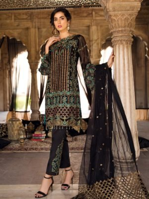 *On Sale* Maryam's Premium Festive Collection Vol 3 Chiffon Dupatta Salwar Suit