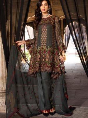 *On Sale* Maryam's Premium Festive Collection Vol 3 RESTOCKED Chiffon Dupatta Salwar Suit
