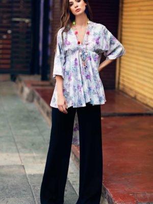 ~Sold out~ Nourhan Magnolia – Single PC Tunic best pakistani suits collection