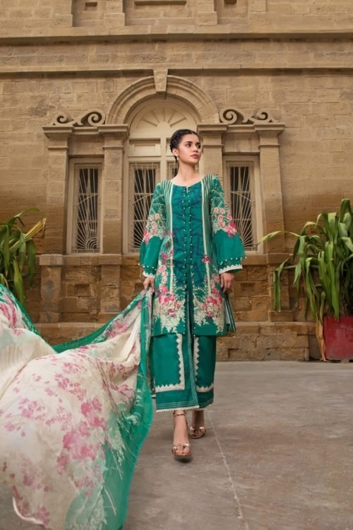 *Hot on Sale* Gulmohar Lawn Salwar Suit RESTOCKED best pakistani suits collection