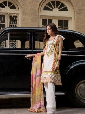*On Sale* Gulmohar Lawn Salwar Suit RESTOCKED Chiffon Dupatta Salwar Suit