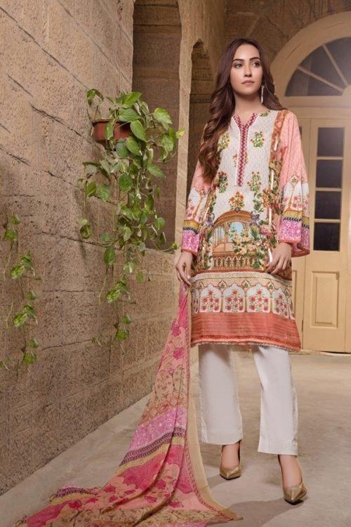 *Hot on Sale* Gulmohar Lawn Salwar Suit RESTOCKED Chiffon Dupatta Salwar Suit