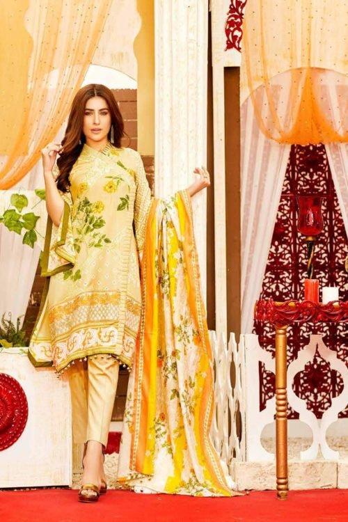 Tawakkal Tawakkal Amna Sohail Imperail Reflections Lawn Dupatta Salwar Suits